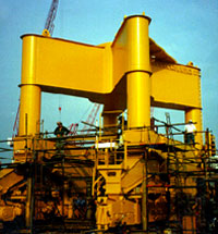 Fabrication & Installation of Level Luffing Cranes