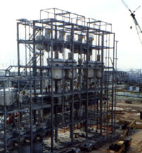 Structural Fabrication & Installation (Steel) for SAK Plant
